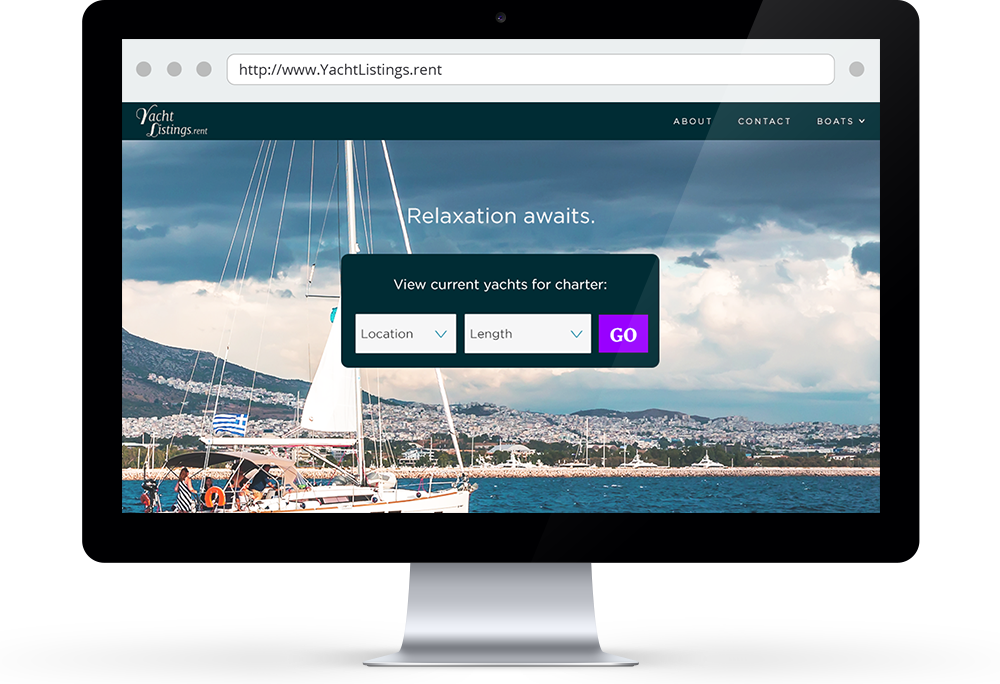 Use .Rent to market your other assets, like YachtListings.rent